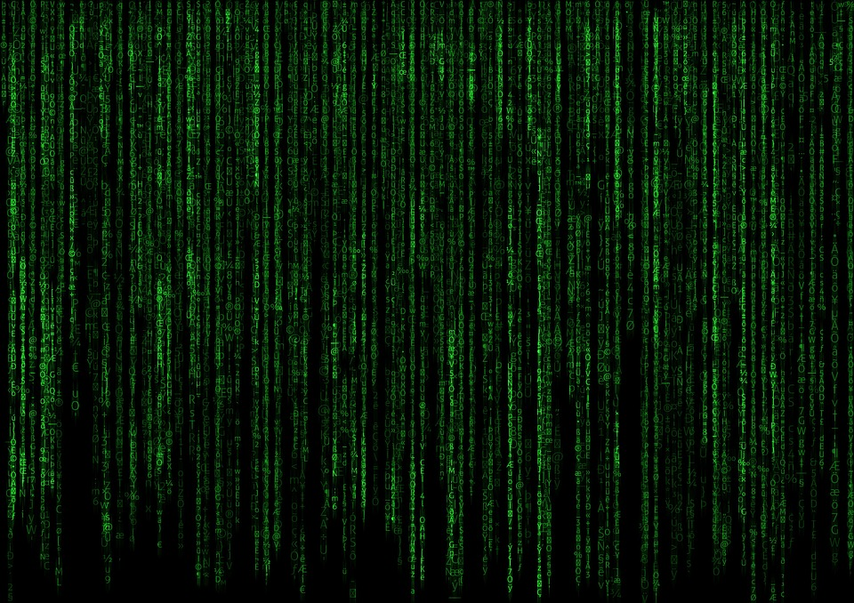 Matrix, Code, Computer, Pc, Data, Program