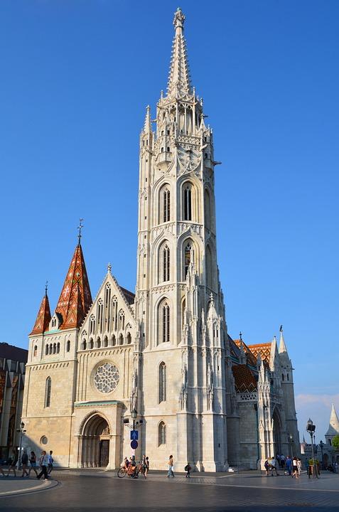 Matthias Church, Church, Budapest, Hungary, Tower