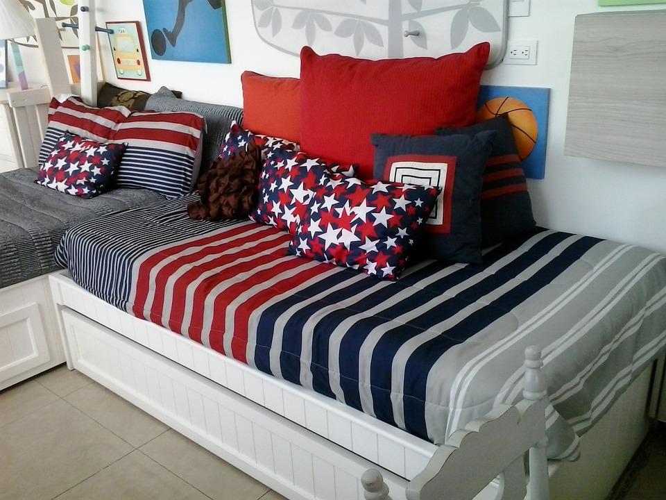 Bed, Mattress, Pillow, Adviser, Children