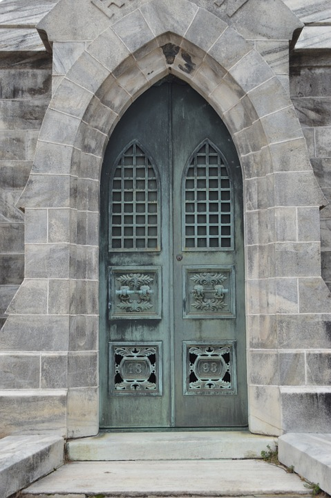 Mausoleum Door Old Cemetery Building Architecture & Free photo Mausoleum Architecture Door Building Cemetery Old - Max ... Pezcame.Com