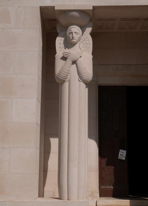 Mausoleum, Monument, Stone Sculpture, Sculpture