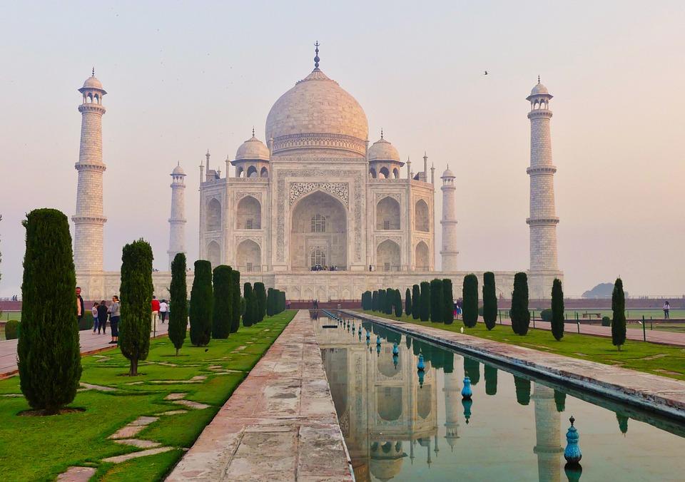India, Taj Mahal, Mausoleum, Agra, Building, Travel