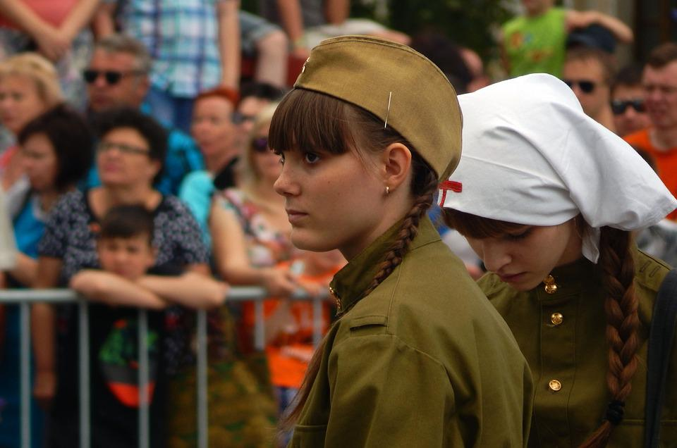 Victory Day, May 9, Holiday, Military Uniform, Soldiers