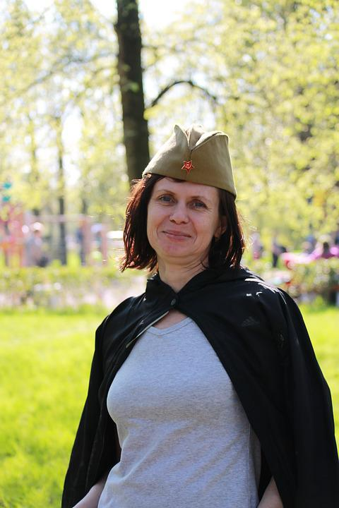 May Holidays, May 9, St Petersburg Russia, Victory Day