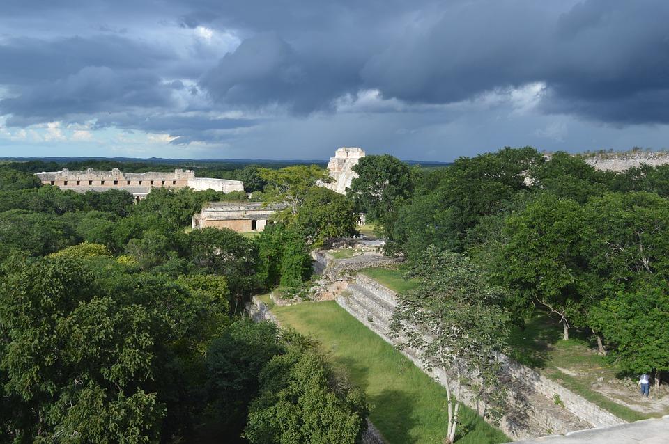 Mexico, Culture, Pyramid, Pyramids, Maya, Uxmal