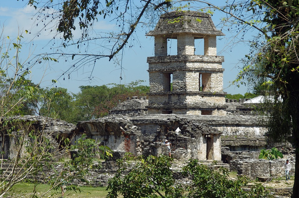 Mexico, Palenque, Ruins, Maya, Temple, Archaeology