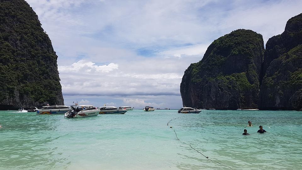 Mayabay, Paradise, Island, Beach, Sea, Ocean, Holiday