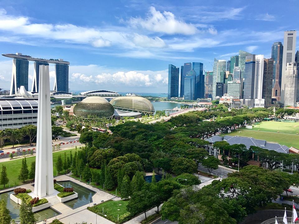 Singapore, Marina Bay Sands, Mbs, Asia, Landscape