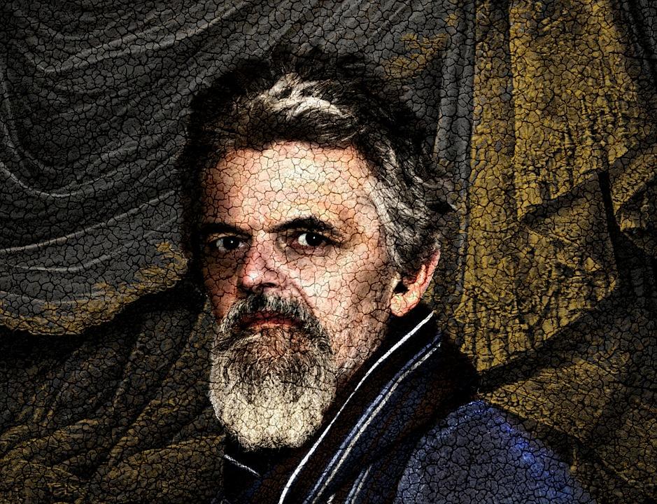 Portrait, Self Portrait, Me, Faux Painting