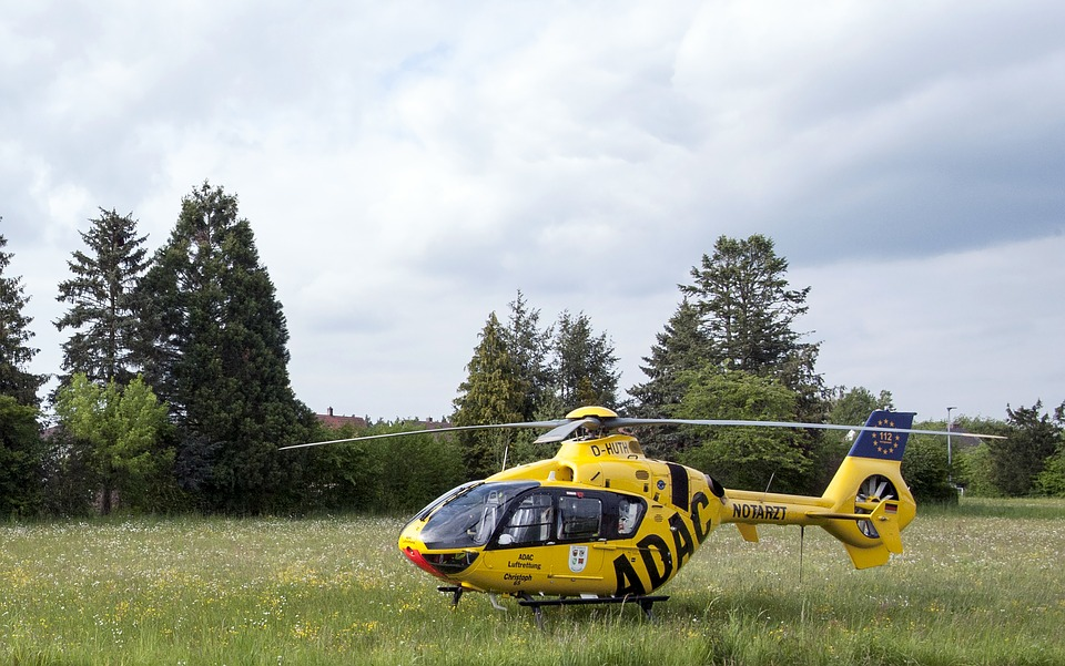 Rescue Helicopter, Doctor On Call, Meadow, Adac