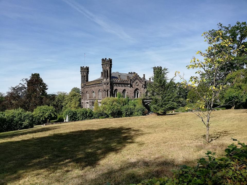 Castle, Castle Park, Castles, Manor House, Meadow