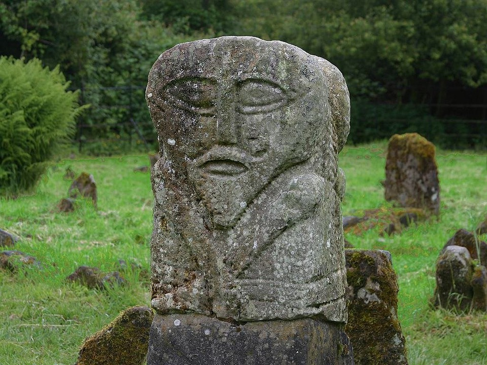 Statue, Historically, Place Of Worship, Ireland, Meadow