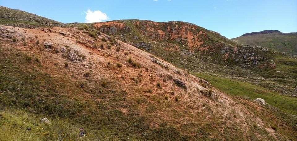South America, Colorado, Hill, Rocky, Meadow