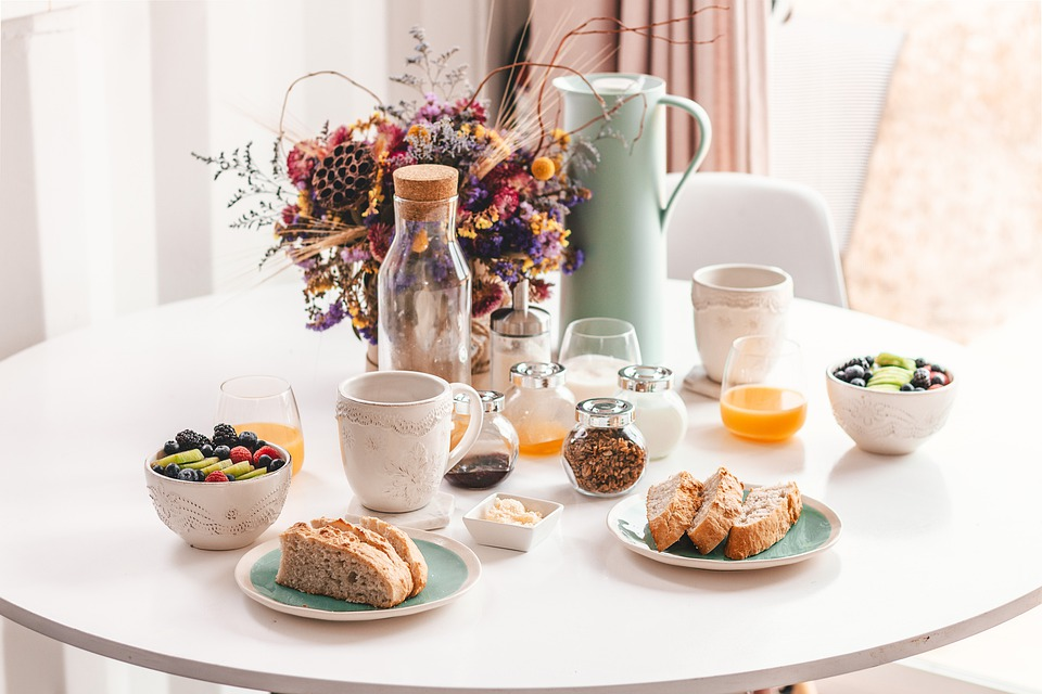 Breakfast, Minimal, Interior Design, Indoors, Meal