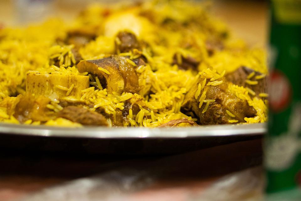 Free photo Meal Meat Kabsa Camel Meat Dish Cuisine Food - Max Pixel