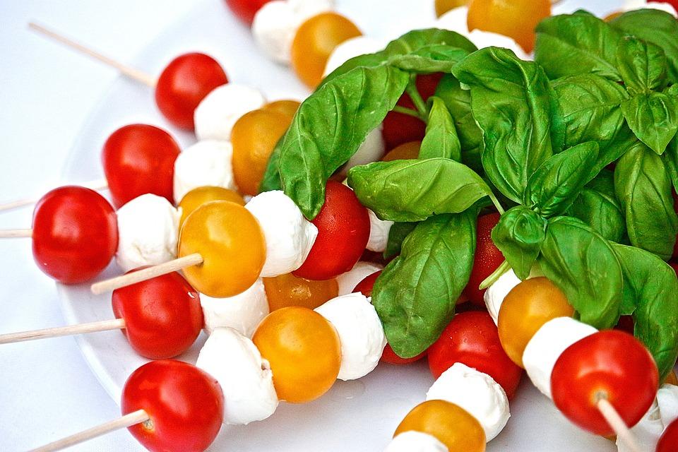 Tomatoes, Mozarella, Eat, Italian, Food, Meal