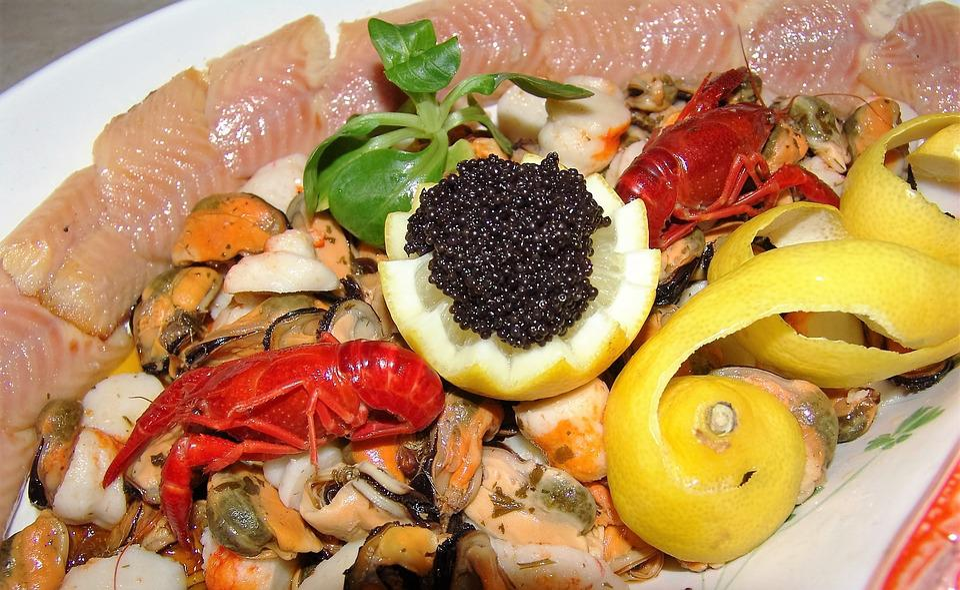 Food, Gourmet, Dinner, Meal, Plate, Restaurant, Seafood