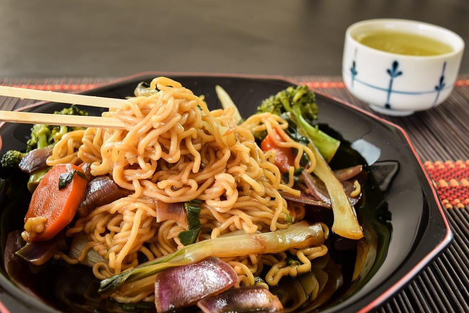 Yakisoba, Food, Dinner, Meal, Tasty