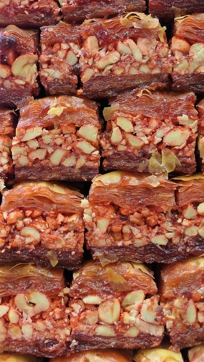 Turkish Delight, Süßigkeit, Food, Candy, Sweet, Meals
