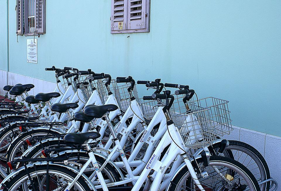 Bicycles, Bicycle Parking, Means Of Communication