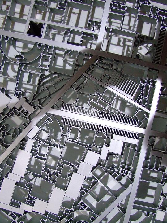 Floorplan, Metal, Roads, Means Of Transport, Road