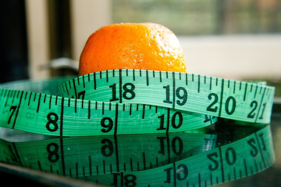 Diet, Measure, Measuring Tape, Orange, Measurement