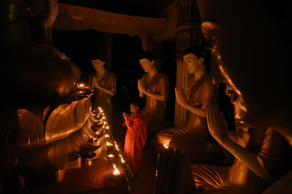 Pray, Buddha Statue, I Pray, Measure, Religion