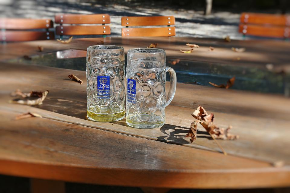 Beer, Measured Beer, Beer Mug, Barley Juice, Bavaria