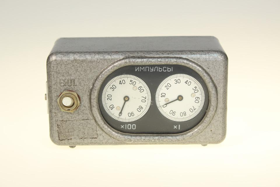 Measurement, Impuls, Sensor, Detector, Old, Retro