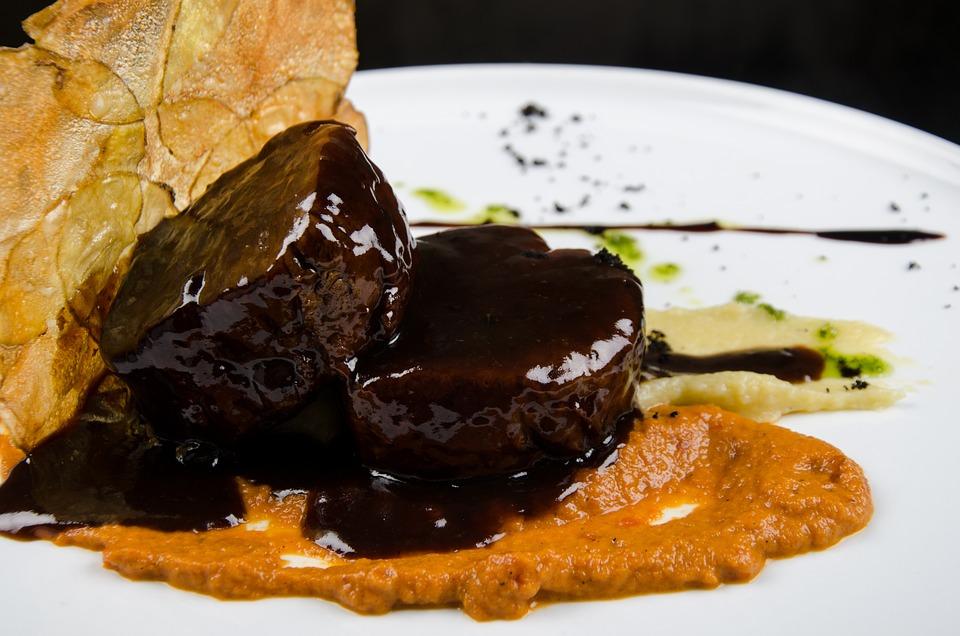 Medallions, Meat, Solomo, Gourmet Food, Sauce