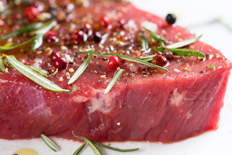 Meat, Beef, Raw, Marinated, Steak, Fresh, Meal