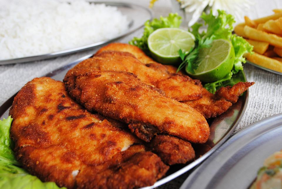 Meat, Meal, Food, Supper, Plate, Tilapia Fried
