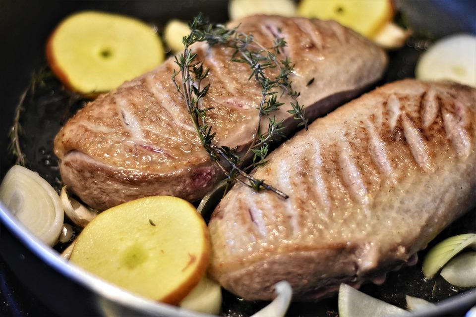 Meat, Food, Duck, Duck Breast, Fry, Recipe, Tasty