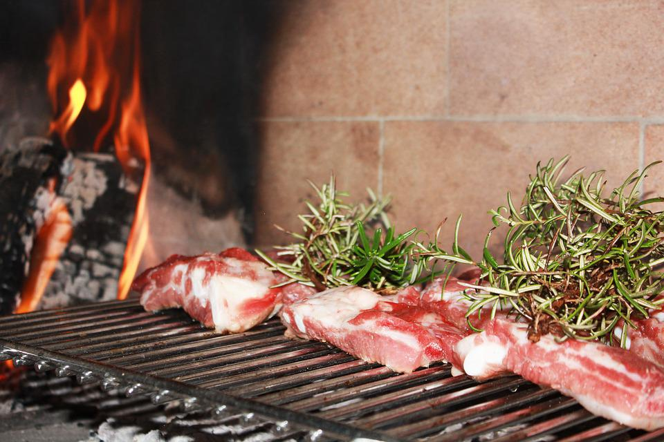 Meat, Barbecue, Rib, Rosemary, Cook, Grid, Kitchen
