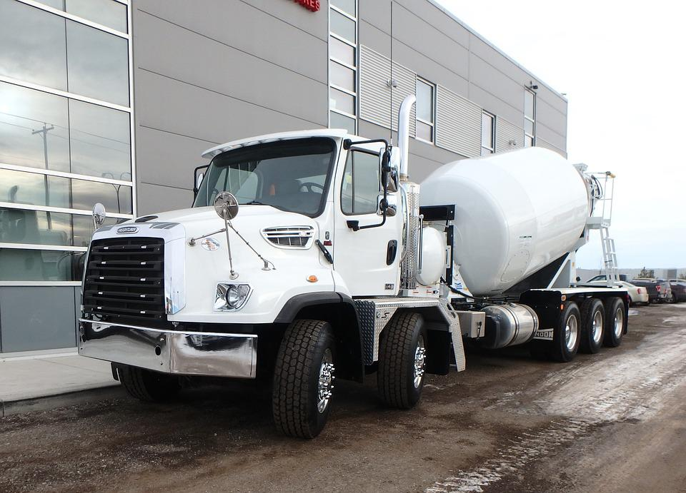 Mechanical Engineering, Concrete Mixer Truck, Tanker