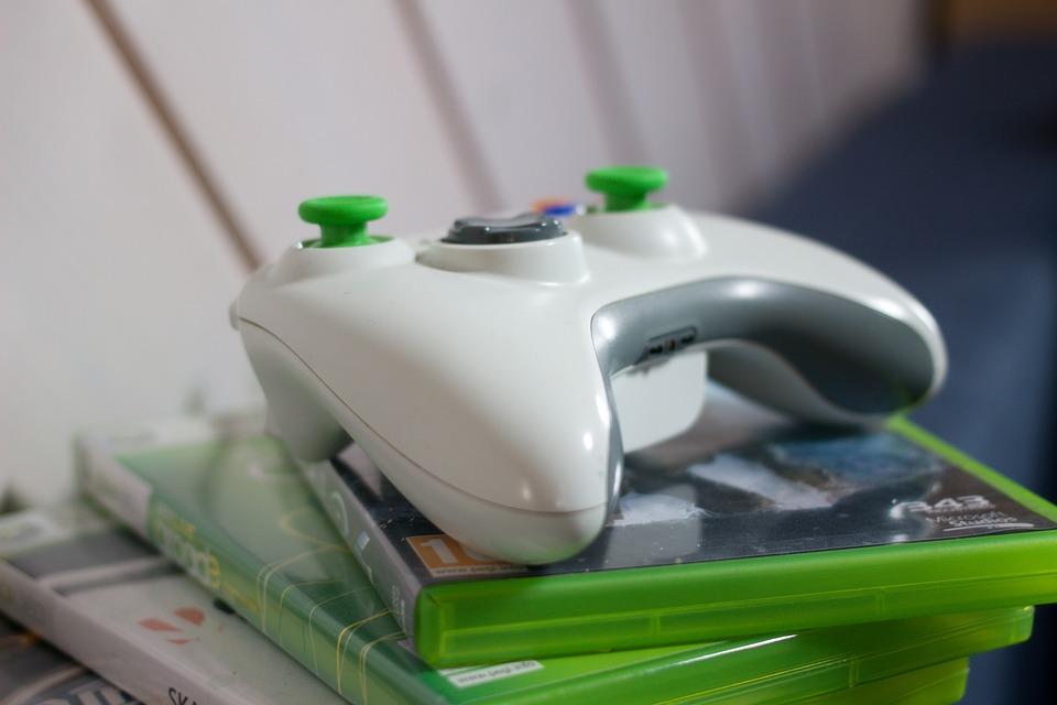 Xbox, Game, Sleeve, Green, Play, Electronics, Media