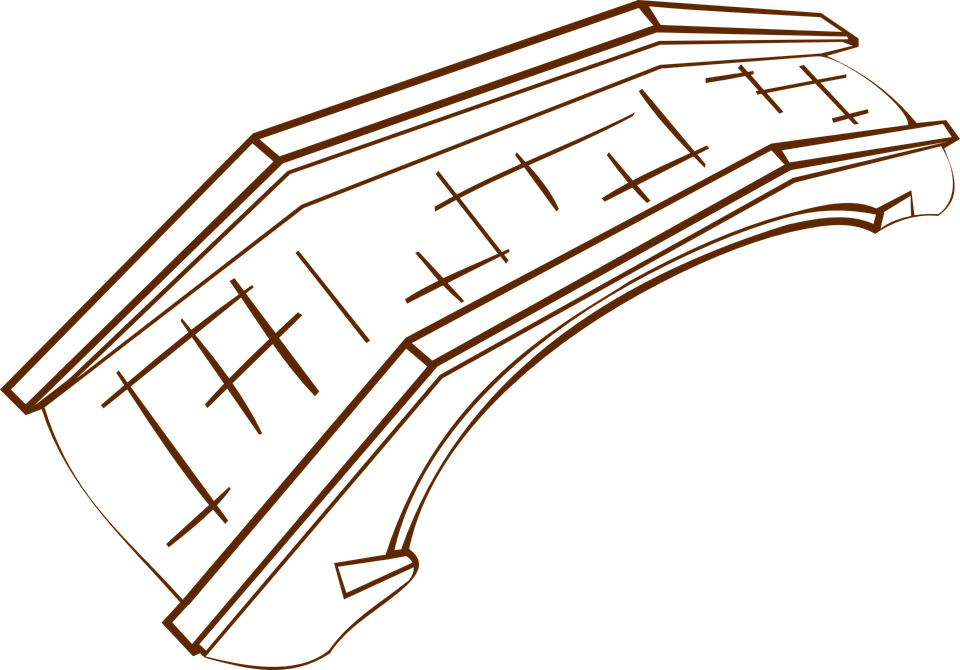 Bridge, Stone, Construction, Medieval