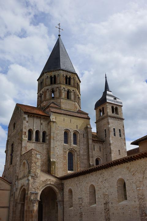 Church, Abbey, Cluny, Archtecture, Medieval