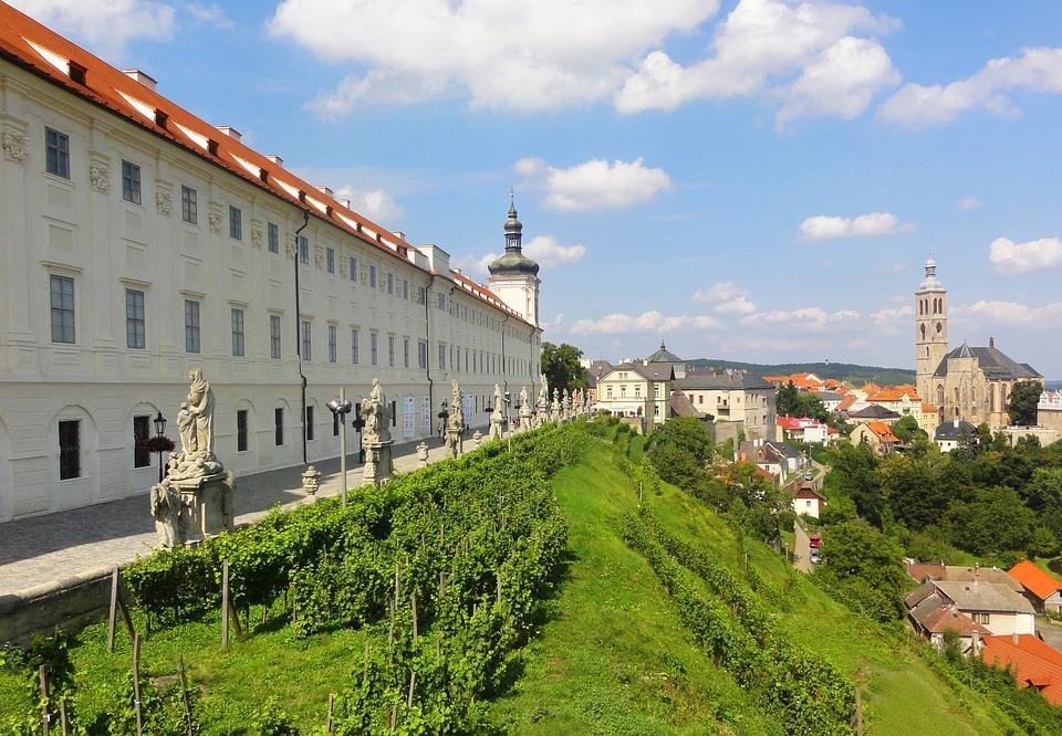 Medieval, Town, Czechia, College, Architecture, Travel