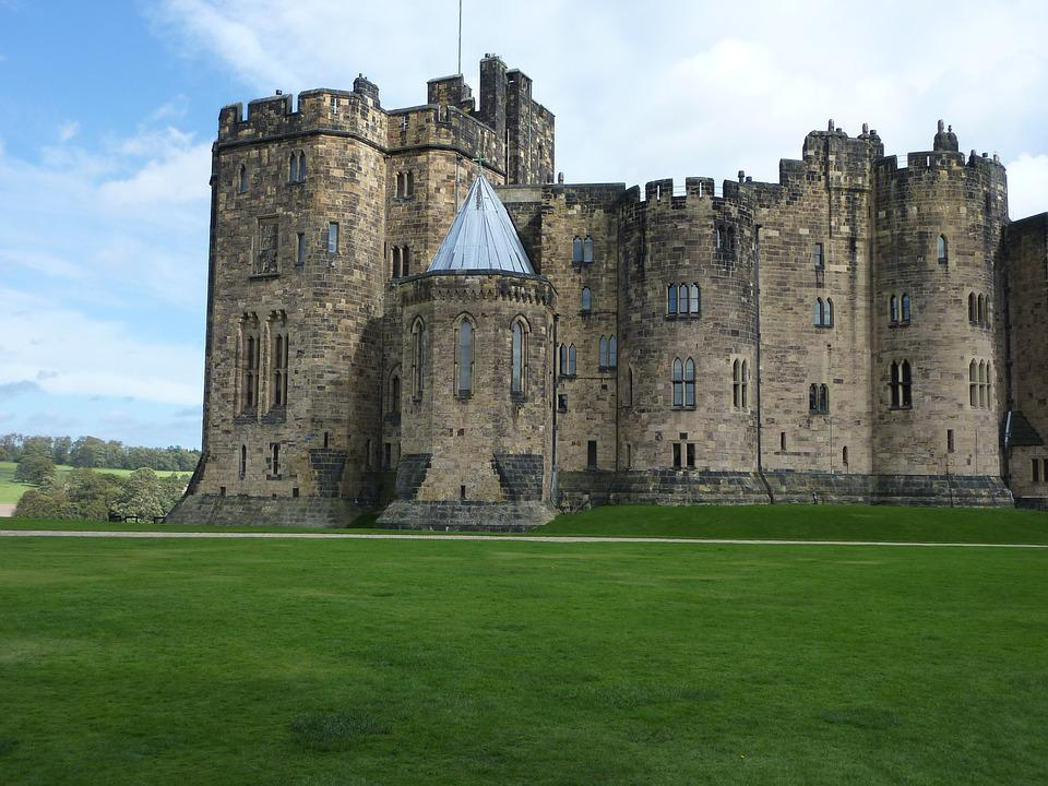 Alnwick Castle, England, Castle, Historic, Medieval