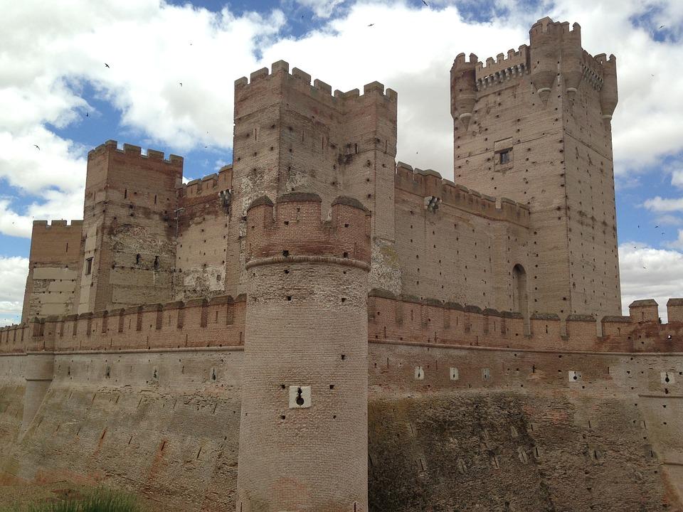 Medina, Field, Castle, Mota, Medieval, Stones, Wall