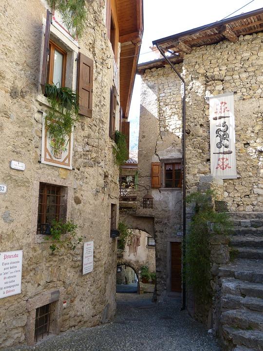 Alley, Houses Gorge, Medieval Village, Village