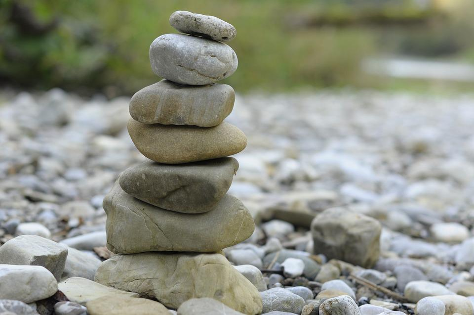 Zen, Stones, Meditation, Feng Shui, Patience, Balance