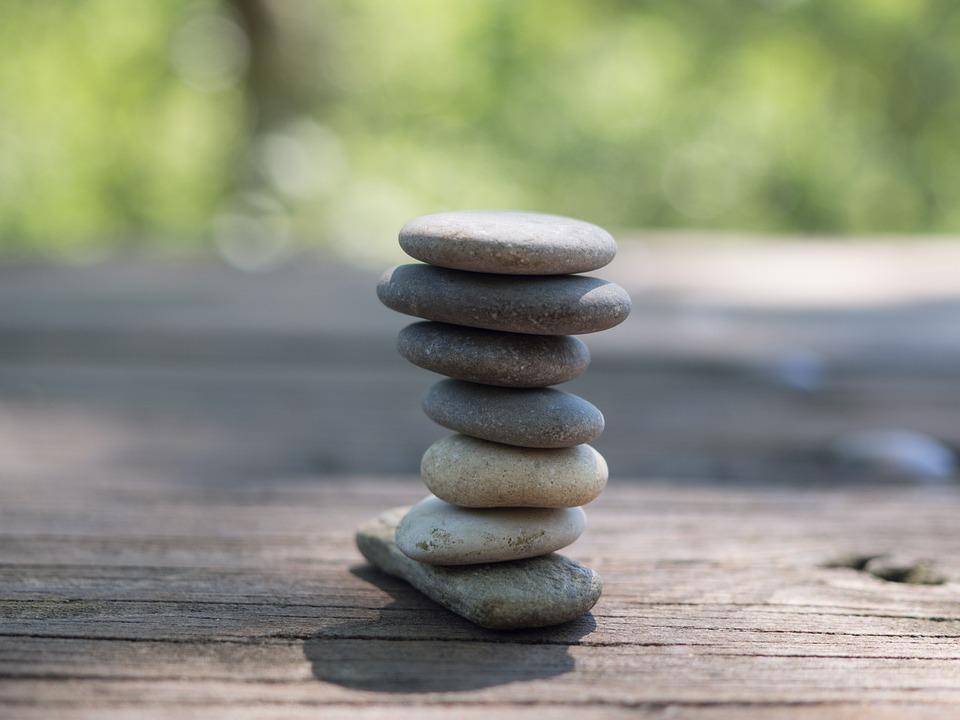 Stability, Zen, Meditation, Harmony, Pierre, Nature