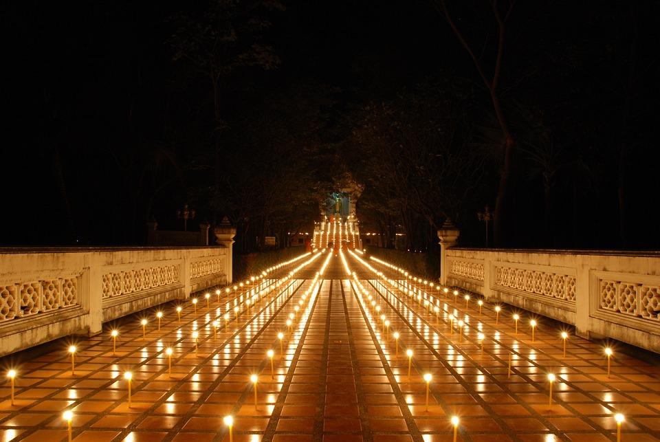 Meditation, Calmness, Candles, Power, Candlelight