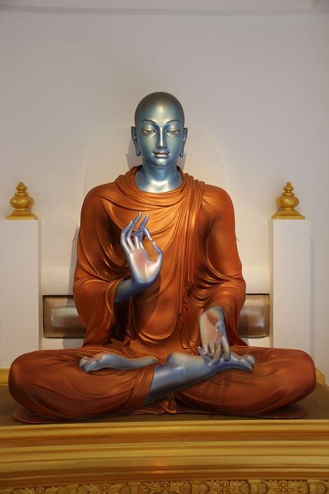 Buddha, Statue, Meditation, Sculpture, Religion, Yoga