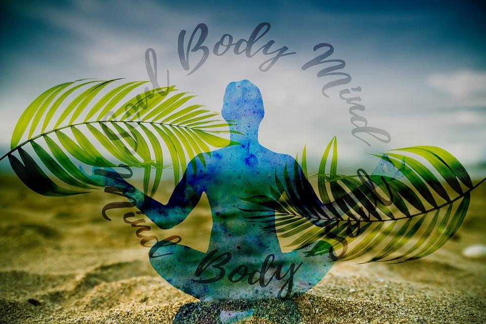 Meditation, Reflection, Person, Sunset, Wave, Circle