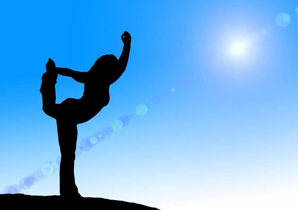 Yoga, Silhouette, Woman, Relaxation, Sporty, Meditation