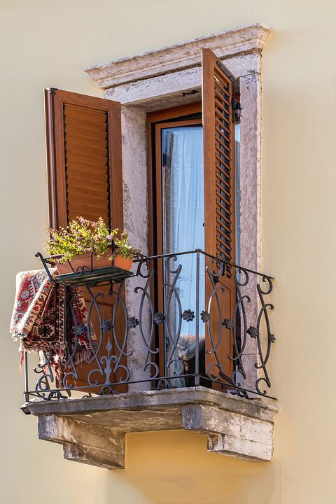 Balcony, Mediterranean, Facade, Architecture, Window