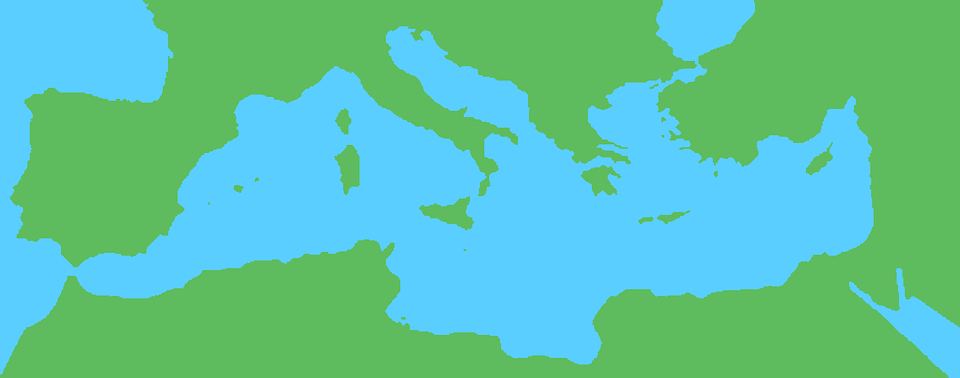 Mediterranean, Map, Geography, Country, Atlas, Europe